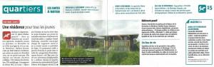 Nelle résidence Poitiers Magazine