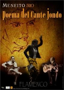 Affiche Poema del Cante Jondo presse