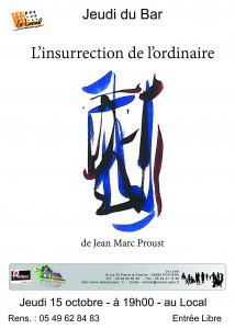 affiche jean marc Proust