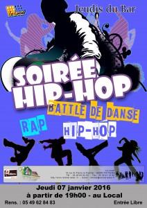 Flyer Hip Hop