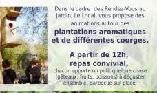 Découverte conviviale duJardin du Local, samedi 4 juin de 11h à 19h