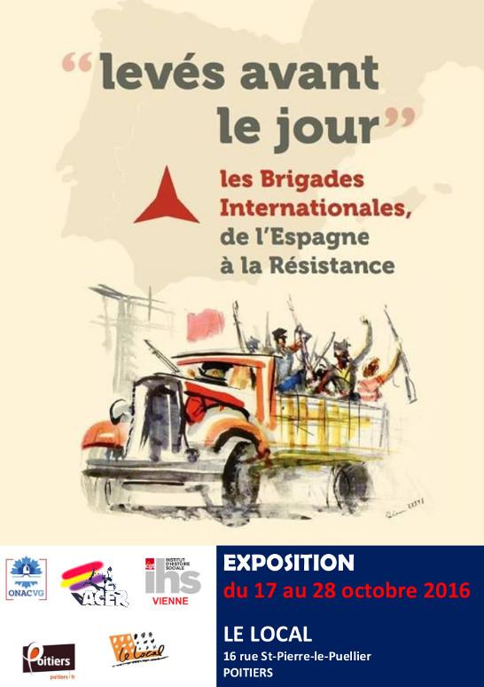 affiche expo Brigades Internationales
