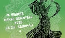 Les Jeudis du Bar:  Danse Orientale avec la Cie Azoukah, jeudi  2 février à 19h