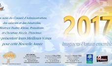 Meilleurs Voeux à tous pour cette Nouvelle Année 2017