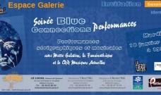 « Blue connexion Performances », musique et sérigraphie, mardi 10 janvier à 19h :