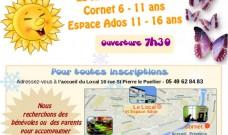 Programme des activités des vacances de printemps 2017 pour les Accueils de Loisirs (enfants et ados)