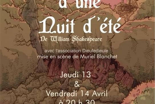 Jeudi 13 et vendredi 14 avril à 20h30 : l'Atelier Théâtre Adultes du Local présente