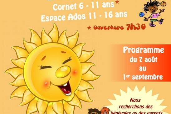 Programme des activités enfants et ados des Accueils de Loisirs du Local, juillet et août 2017.
