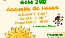 Programme des activités enfants et ados des Accueils de Loisirs du Local, Juillet 2017