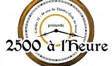 Vendredi  30 juin à  20h, Théâtre :  « 2500 à l'heure : 2500 ans de théâtre en une heure »