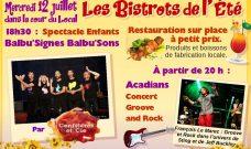 BISTROTS DE L'ETE : Mercredi 12 juillet au Local à partir de 18h – Entrée gratuite