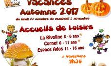 Programme des activités enfants et ados des Accueils de Loisirs du Local pour l'automne 2017.