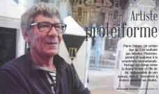 Portrait de Pierre Debien dans le magazine «7 à Poitiers»