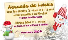 Programme des activités enfants et ados des Accueils de Loisirs du Local pour l'hiver 2017.