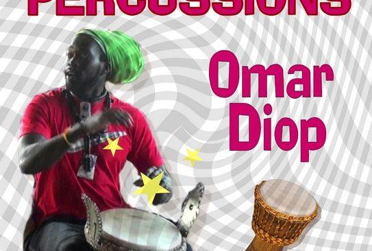 Jeudi 15 mars à partir de 19h : percussions avec Omar Diop