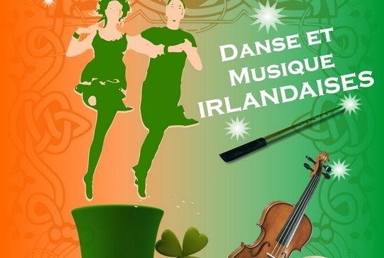 Jeudi 1er mars à partir de 19h : Musique et danses Irlandaises