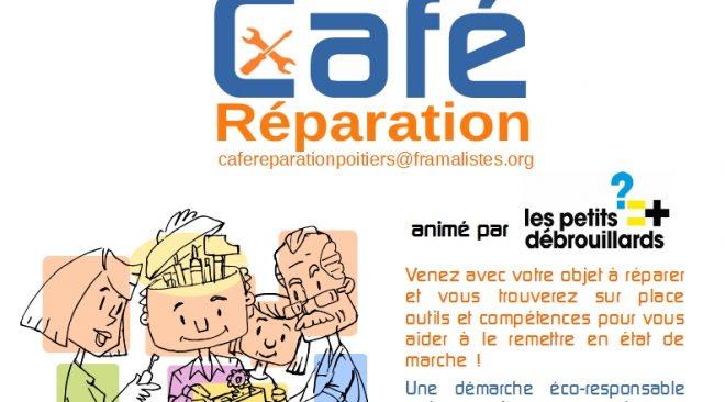 Mercredi 7 mars de 15h à 18h : Café Réparation à Cobalt