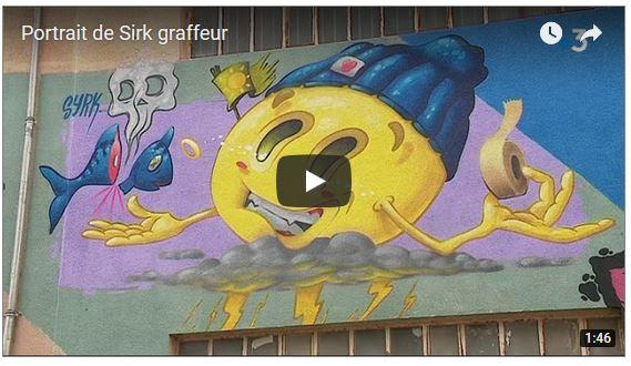 Portait de Syrk : reportage de France 3 Nouvelle Aquitaine