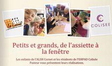 Un livret de recettes créées par les enfants de Cornet et des résidents de Pasteur