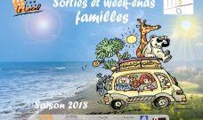 Programme des sorties et week-ends familles pour la saison 2018