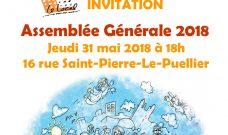 Jeudi 31 mai 2018 à 18h : Assemblée Générale 2018 du Local