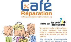 Samedi 26 mai, Café Réparation de 14h à 17h à COBALT