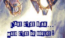 Mercredi 27 juin à 20h, L'atelier des 12/14 ans du Théâtre-Ecole présente « L'Art c'est beau… mais c'est du boulot ! »