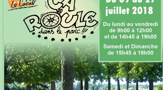 Du 09 au 27 juillet 2018, Ça Roule dans le parc : un chantier Loisir pour les 11/16 ans au Parc de Blossac