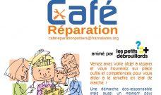 Mercredi 13 juin 2018 de 15h à 18h : Café Réparation au Local