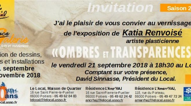 Exposition dans l'Espace Galerie : Saison 2018-2019