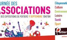 Dimanche 9 septembre de 10h à 18h :  Journée des Associations.