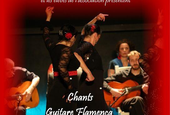 Jeudi 24 janvier 2019 à 19h « Chants, Guitare Flamenca et Danses Sévillanes»