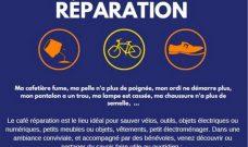 Samedi 26 janvier de 14h à 17h : Café Réparation au Local