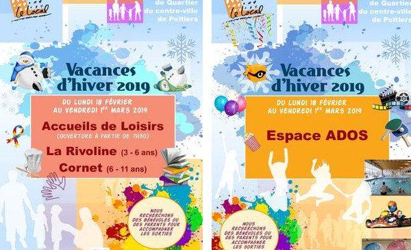 Programme des Accueils de Loisirs Enfants et Ados pour les vacances d'hiver 2019