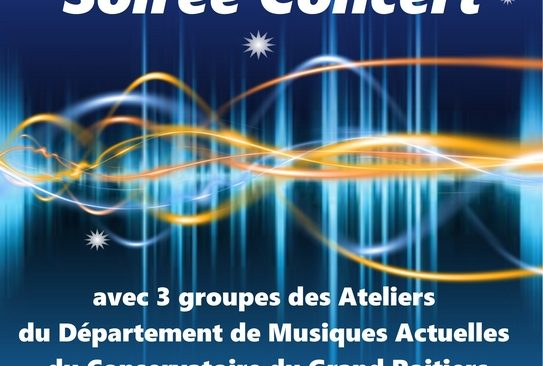 Jeudi 23 mai 2019 à partir de 19h : concert dans L'Espace Bar du Local