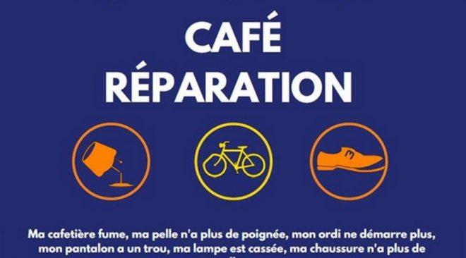 Samedi 25 mai 2019 de 14h à 17h :  Grand Café Réparation au Local