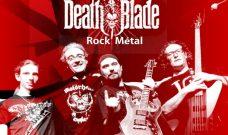 Jeudi 27 juin à 19h « Death Blade », concert de Rock-Métal