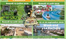 Programme des sorties familles de juillet, août et septembre 2019