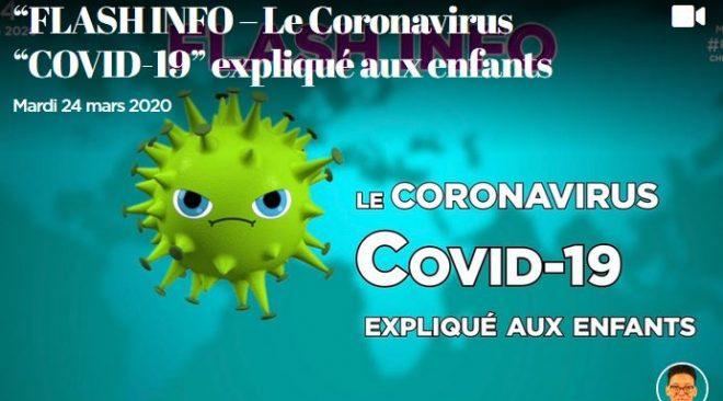 """Le Coronavirus """"COVID-19"""" expliqué aux enfants en langue des signes"""