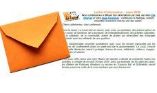 Lettre d'information du Local à télécharger – spécial confinement – mars 2020