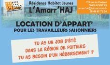 Accueil des saisonniers dans la Résidence Habitat Jeunes de L'Amarr'HAJ