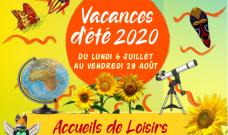 Programme des Accueils de Loisirs Enfants et de L'Espace Ados pour les vacances d'été 2020