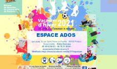 Programme d'activités de L'Espace Ados pendant les vacances d'hiver 2021