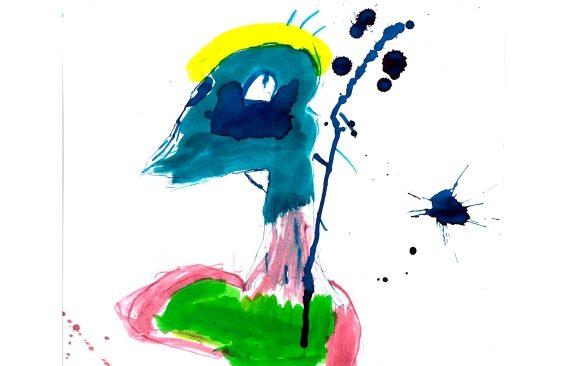 Mercredi 20 octobre à 17h : Vernissage de l'exposition des dessins réalisés par des enfants de L' Accueil de Loisirs Cornet avec l'artiste Laurent Merlet
