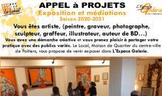 Appel à Projets d'exposition et de médiations dans l'Espace Galerie pour la saison 2020-2021