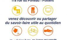 Samedi 8 février 2020 : Café Réparation  à L'Amarr'HAJ à Porteau