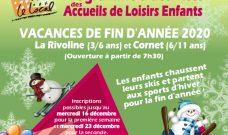 Programme des activités des accueils de Loisirs enfants pour les vacances de fin d'année 2020