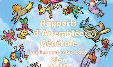 Rapport de l'Assemblée Générale 2020 (bilan 2019)