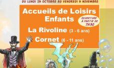 Programme d'activités des Accueils de Loisirs Enfants pour les vacances d'automne 2021